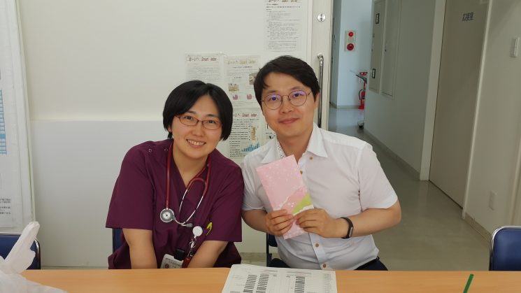 大井協同診療所 所長と一緒に。可愛い♡