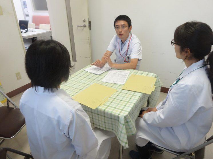 正直MSWさんてどんな業務かわからなかったけど、患者さんにとって、とても大切な人だと思いました(by学生さん)